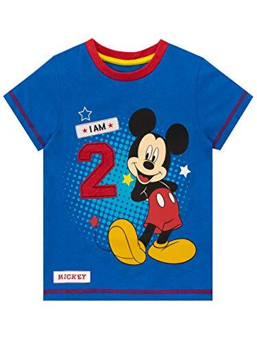 Disney Maglietta per Ragazzi Topolino Blu 18-24 Mesi