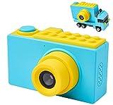 MagicSmiles Macchina Fotografica per Bambini, Doppia Fotocamera Digitale, Selfie, Videocam...