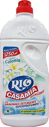 9 x RIO CASA MIA Lavapavimenti&Tutte Le Superfici Colonia 1250Ml