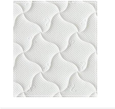 Colch/ón de 90 x 190 cm Estructura de nueve capas Espuma con memoria Ergonomic Hipoallergenic