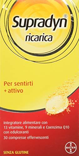 Supradyn Ricarica Integratore Alimentare 30 Compresse Effervescenti