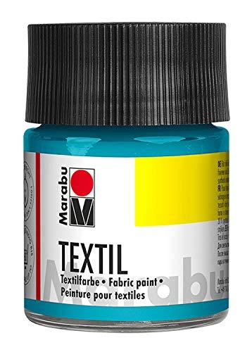 Marabu Textil Jar 50ml - Vernice per tessuti, 5 x 5 x 7,7 cm