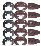 Kenlin Lot of 5 Sets of Enhanced Commercial Style Kenlin Rite-Trak II Model #168 (Drawer Stop with Roller) …