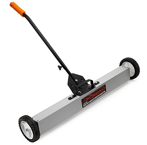 """NEIKO 53418A 36"""" Magnetic Pick-Up Sweeper with Wheels 