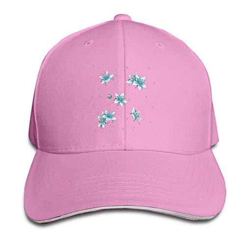 Gorra de béisbol clásica Deportes Sun Hat 8 Colores Silent Princess Pattern, rosa, Talla única