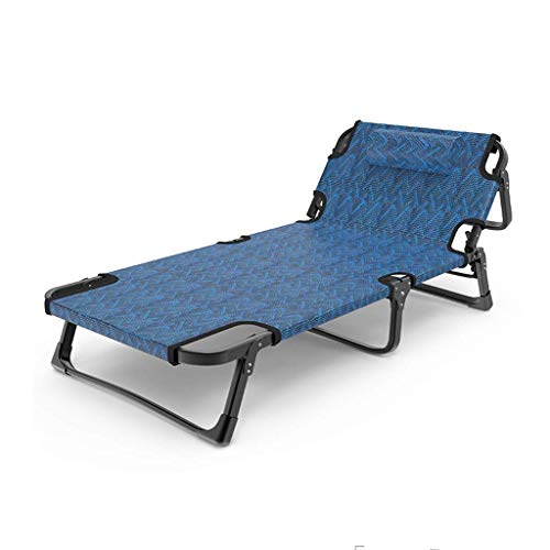 Folding lounge chairFolding Lunch Break Bed, Multifunctional Portable Adult Leisure Backrest Chair, Suitable for Home Office Comfortable Lounge Chair