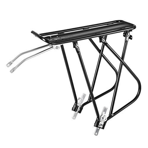 SONGMICS Bike Cargo Rack for Linear-Pull Brakes, Rear Bike Carrier USBC01B