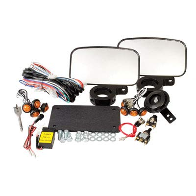 TUSK UTV Street Legal Horn and Signal Kit- Polaris RZR 1000/900/800 2007-2019 - Includes Oil Filter with Purchase