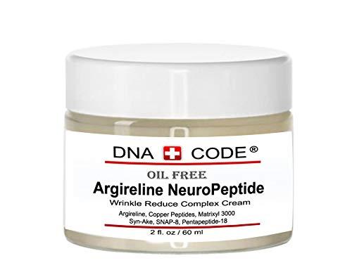 No Needle Alternative-OIL FREE Argireline NeuroPeptides Cream, w/, Matrixyl 3000, Syn-Ake, SNAP-8, Copper Peptides