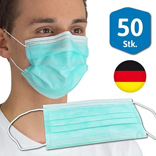 Dönges Medizinischer Mundschutz 3-lagig OP-Maske zertifiziert (PACK à 50 STÜCK)