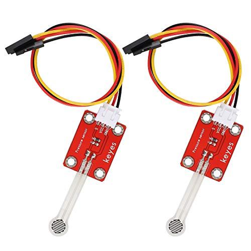 DABEI 2 Pcs Thin-Film Pressure Sensor 0~5kg Force Sensitive Resistor for Arduino Micro:Bit Raspberry Pi Sense Pressure Weight and Squeezing