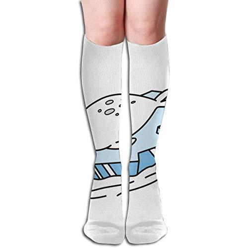 Bert-Collins Seal Icon - Calcetines de poliéster con dibujos animados de morsa para correr, deportes, viajes, uso diario, calcetines para mujeres y hombres