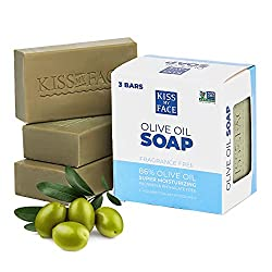 Kiss my face olive oil soap