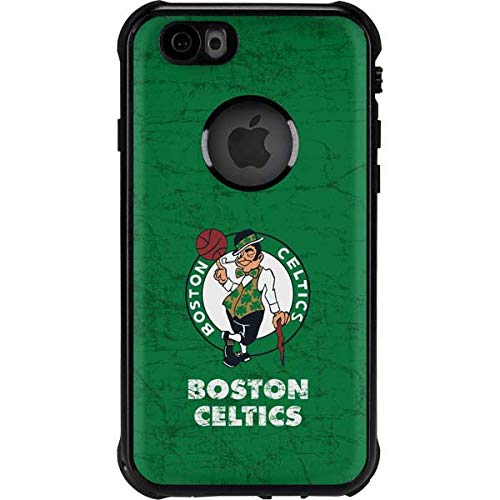 Skinit Waterproof Phone Case Compatible with iPhone 6/6s - Officially Licensed NBA Boston Celtics Green Primary Logo Design