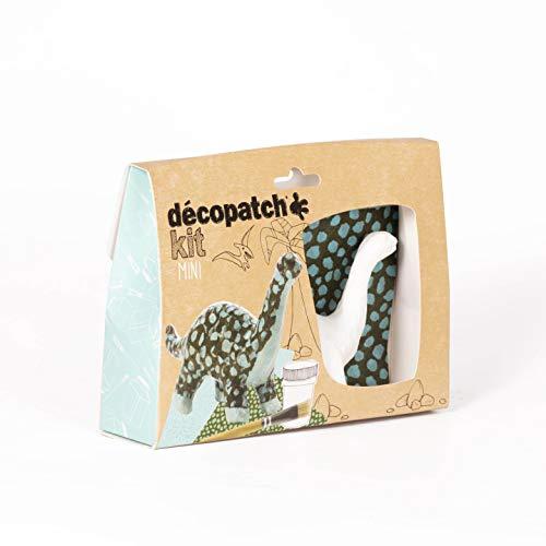 Decopatch–Papel maché (Mini Kit 19x13,5x4,5cm), diseño de...