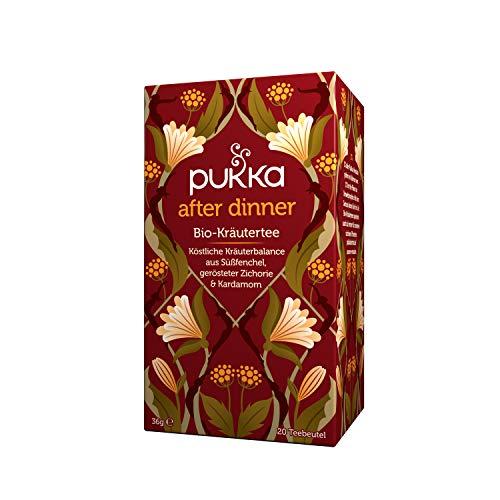 Pukka Bio-Tee After Dinner 80 Teebeutel, 4er Pack (4 x 20 beutel)