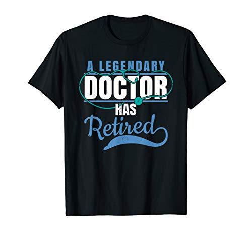 Retired Doctor Retirement Gift Shirt for Retiring Medical MD T-Shirt