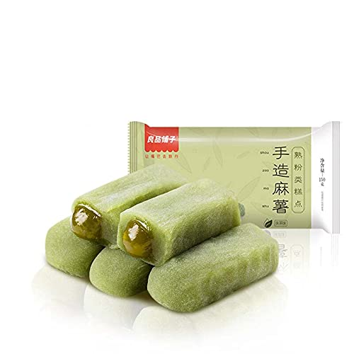 Liangpinpuzi Mochi Matcha Flavour Pastry 4 years Max 76% OFF warranty 良å 150g Casual Snacks