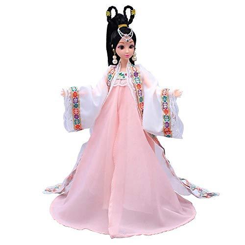 Uteruik Muñeca antigua china de 12 articulaciones muñeca d