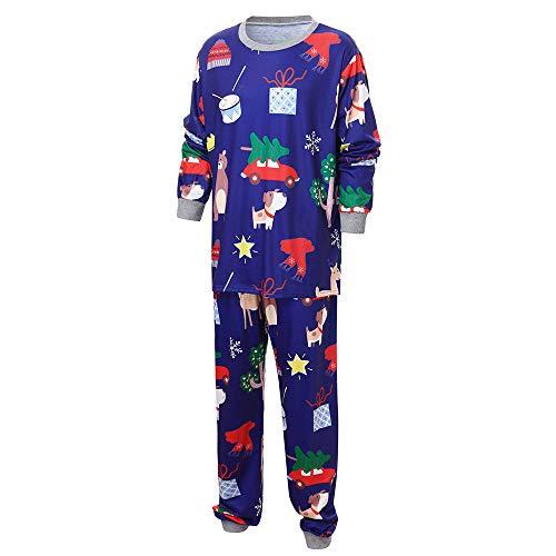 Conjunto de Pijamas navideños a Juego para bebés y bebés Ropa de Dormir para Adultos