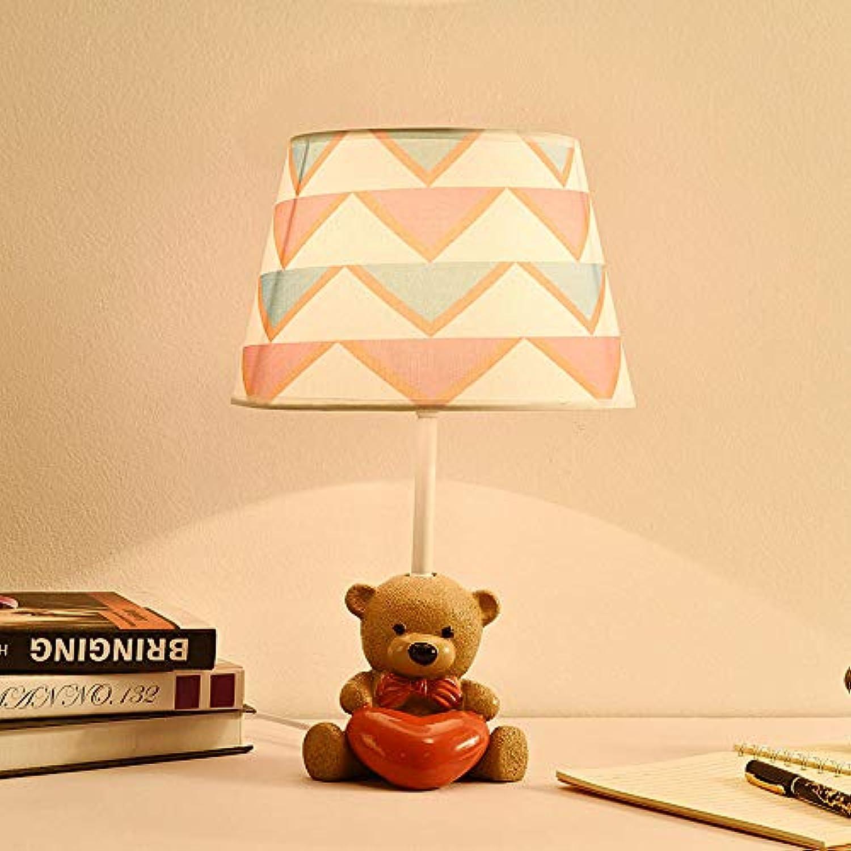 Schlafzimmer Nachttischlampe Kinderzimmer niedlichen Cartoon Persnlichkeit Tischlampe modernen minimalistischen warmen Traum dekorative Tischlampe, eine