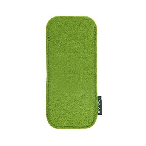 YUXIN Zhaochen Pochette Lunettes étui à Lunettes de Protection Anti-Rayures Sac Souple Portable Crayon Lunettes de Soleil Case (Color : Green)