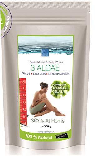 Meeresalgen-Fango - Anti Cellulite Aktivierung packung ● Algen Aktivierungs-Packung bleumarine Bretania (500g)