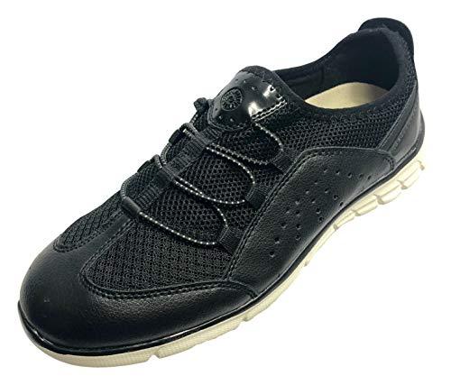 Earth Spirit Women Foxi Athletic Slip-on Shoes (6 (M), Black)
