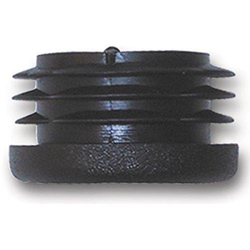 Abdeckkappe Rohrstopfen Fußkappen Pfostenkappe Kunststoff für Rundrohr 20 mm Durchmesser (10 Stück)