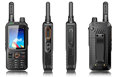 Luthor TL-4G8 Walkie Uso Libre 4G LTE Android/WiFi zello Esta Radio sin Licencia Utiliza la Red móvil 4G LTE