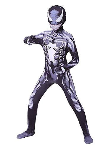 NVHAIM Bambini Black Venom Spider-Men Onesies Costume,...