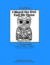 استمع إلى Owl Call My Name: Novel-Ties Study Guide