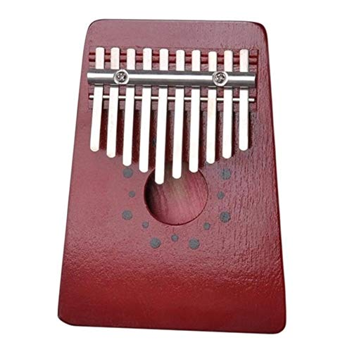 For Sale! Portable 10 Key Finger Traditional Wood Finger Kalimba Thumb Piano Pocket Size Keyboard Mu...
