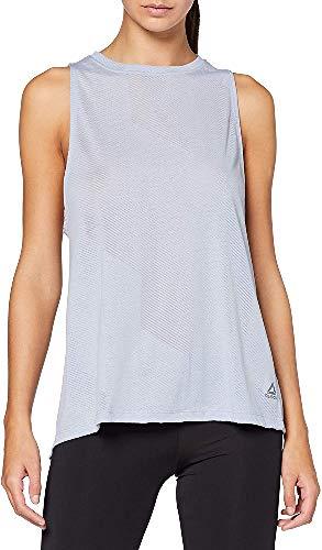 Reebok Os BO Tank T-Shirt ohne Ärmel Damen XX-Small Bleu (Denim Dust)