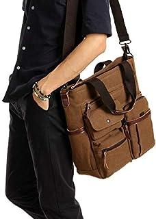 حقيبة كبيرة توتس مصنوع من قماش لون بني