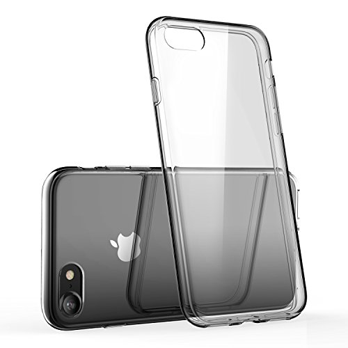 iPhone 7 Clear Case/iPhone 8 Clear Case, technext020 Shockproof Ultra Slim Fit Silicone TPU Soft Gel Rubber Cover Shock Resistance Protective Back Bumper for iPhone 7 / iPhone 8 Clear