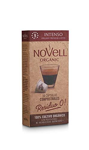 Cafes Novell 1870 Cápsulas de Café - Intenso, Pack de 8 x...