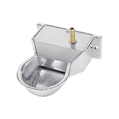 Suinga Hundetränke, automatisch, Aluminium, 10 x 18 x 6 cm, mit Wasserwaage, ermöglicht den Zugang zu Wasser für Ihr Haustier drinnen oder draußen. Kann an der Wand befestigt Werden.