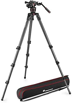 Manfrotto 608 Nitrotech Fluid Video Head and 536 Carbon Leg Tripod