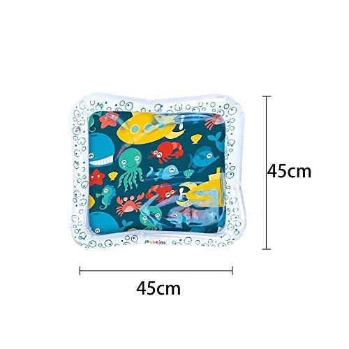 HYLEI Kids Water Play Mat Toys Inflables Espesar PVC Infant Time Playmat Actividad para niños pequeños Play Center Water Mat