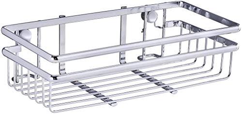 Wenko 54821100 Universalregal Style-Küchen-Ablage, KüchenregaLiter verchromtes MetalLiter 25 x 7 x 12 cm, silber glänzend