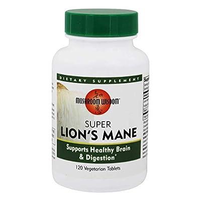 Maitake Products, Mushroom Wisdom Super Lion's Mane - 120 vcaps from Mushroom Wisdom