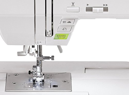 SINGER 9960 Quantum Stylist 600-Stitch Computerized Portable Sewing Machine with Extension Table, Bonus Accessories and Hard Cover