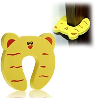 Baby Products Cartoon Child Safety Gate Card/EVA Door Stopper(Yellow) Baby Products
