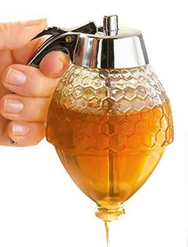 Favson Honigspender, kinderfreundlich, Sirupspender, bruchsicher, BPA-frei