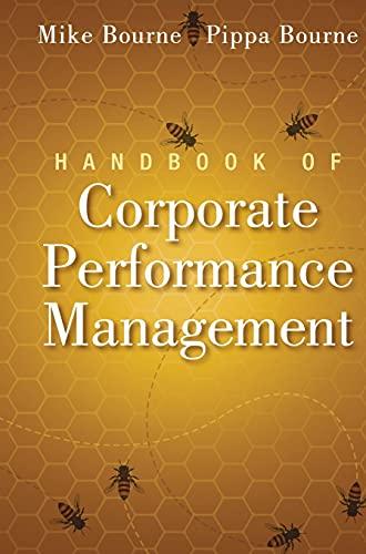 Handbook of Corporate Performance Management