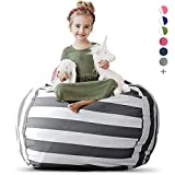 Creative QT Stuffed Animal Storage Bean Bag Chair - Extra Large Stuff...