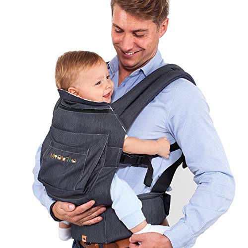 Portabebés Molto Ergonomic Comfort Carrier Denim