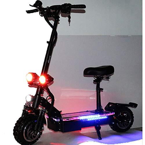 FZ FUTURE Patinete electrico Adulto y niño, Scooter Freestyle con Manillar 2400W...