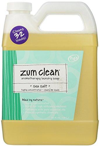 Indigo Wild Zum Clean Laundry Soap, Sea Salt, 32 Fluid Ounce